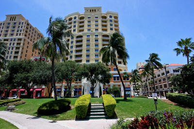 West Palm Beach Condo Sold: 201 S Narcissus Avenue #602