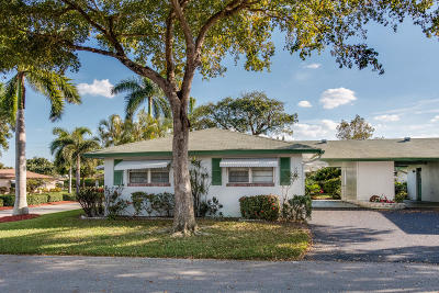 Delray Beach Single Family Home For Sale: 801 Meadowlark Lane