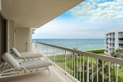 Palm Beach Condo For Sale: 3300 S Ocean Boulevard #501 S