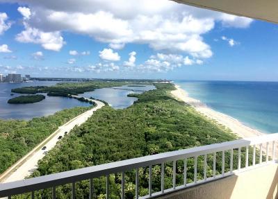 Singer Island Rental For Rent: 5550 Ocean Drive #20c