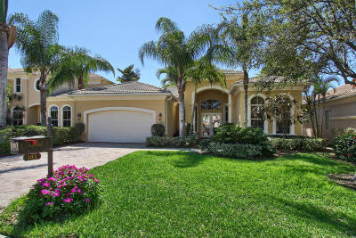 Palm Beach Gardens Single Family Home For Sale: 103 Tranquilla Drive