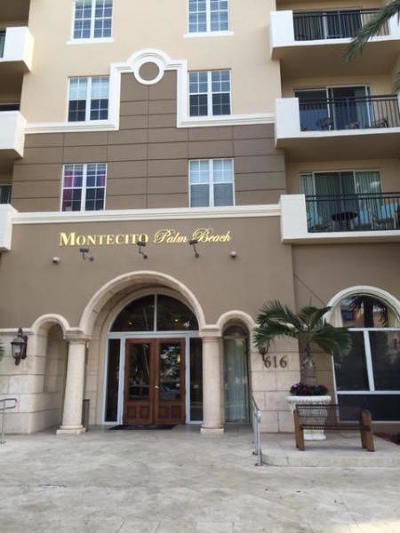 West Palm Beach Rental Leased: 616 Clearwater Park Road #107