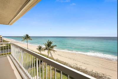 Palm Beach Condo Contingent: 3250 S Ocean Boulevard #503n