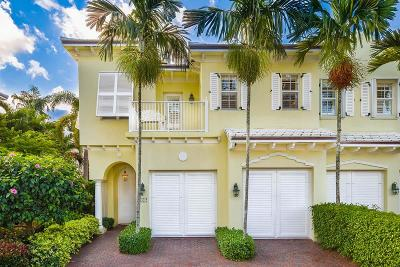 Delray Beach Townhouse Sold: 790 Andrews Avenue #D101