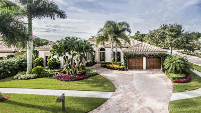 West Palm Beach Single Family Home For Sale: 7193 Winding Bay Lane