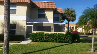 Townhouse For Sale: 717 S Us Highway 1 #810