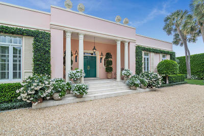 Palm Beach Single Family Home For Sale: 960 Ocean Boulevard