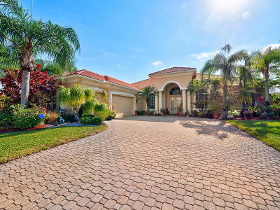 Boynton Beach Single Family Home For Sale: 8200 Muirhead Circle