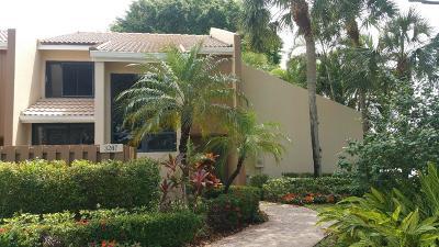 Boca Raton Condo For Sale: 3207 Bridgewood Drive