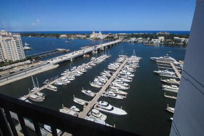 West Palm Beach Condo Sold: 400 Flagler Drive #Ph B1
