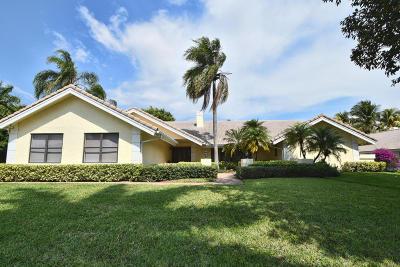 Single Family Home For Sale: 17854 Foxborough Lane