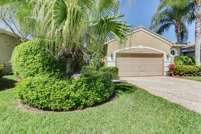 Wellington Single Family Home For Sale: 4729 Carlton Golf Drive