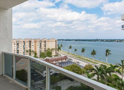 West Palm Beach Condo Sold: 1617 Flagler Drive #902