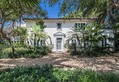 Palm Beach Single Family Home For Sale: 315 Clarke Avenue