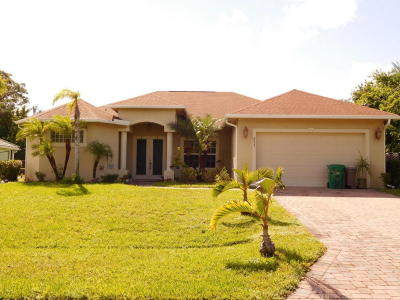 Port Saint Lucie Single Family Home For Sale: 4333 SW Jarmer Road
