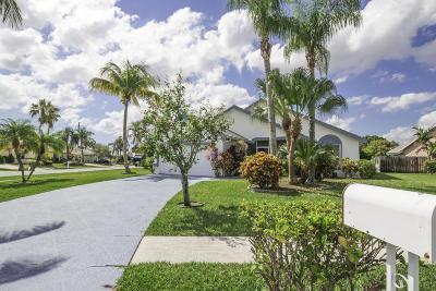 Boynton Beach Single Family Home Contingent: 5064 Rosen Boulevard