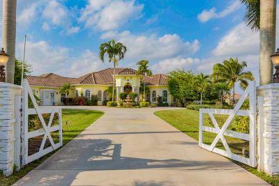 Palm Beach Point Single Family Home For Sale: 15411 Palma Lane