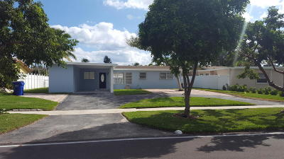 Pompano Beach Single Family Home For Sale: 1100 SE 9 Avenue