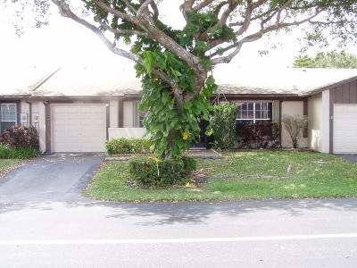 delray beach Single Family Home For Sale: 15808 Forsythia Circle