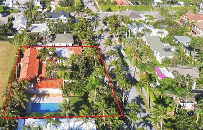 Palm Beach Single Family Home For Sale: 346 Seaspray Avenue
