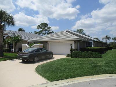 Port Saint Lucie Single Family Home For Sale: 7313 Marsh Terrace