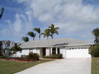 Hobe Sound Single Family Home For Sale: 8009 SE Orchard Terrace
