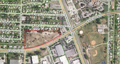Riviera Beach Residential Lots & Land For Sale: 001 Blue Heron