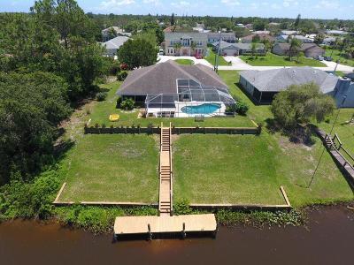 Port Saint Lucie Single Family Home For Sale: 121 NE Sagamore Terrace