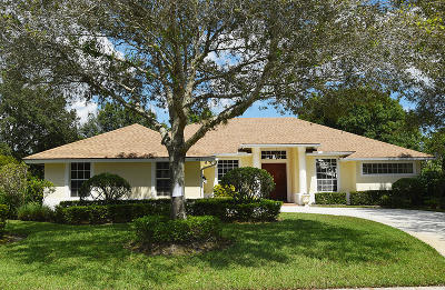 Palm City Single Family Home Contingent: 1961 SW Autumnwood Way