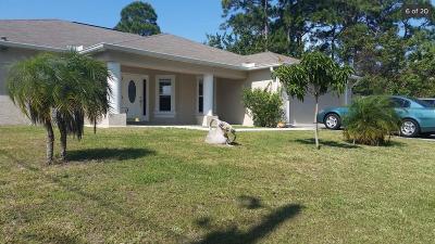 Port Saint Lucie, Saint Lucie West Single Family Home For Sale: 4462 SW Bradbury Street