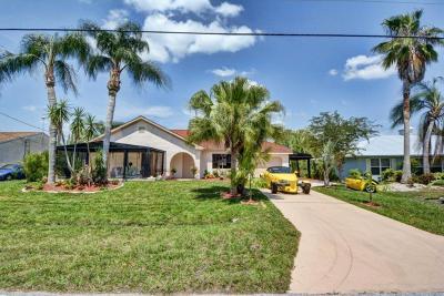 Port Saint Lucie Single Family Home For Sale: 289 NE Sagamore Terrace