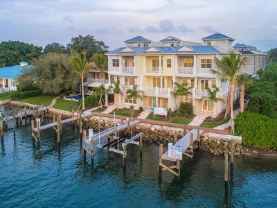 North Palm Beach Townhouse For Sale: 1057 Harbor Villas Drive #1