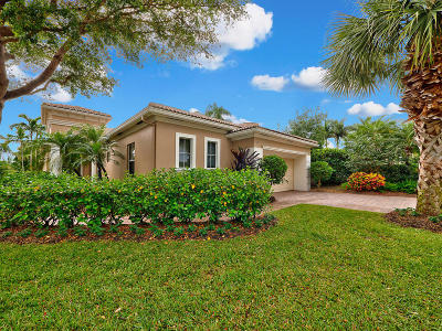 Palm Beach Gardens Single Family Home For Sale: 167 Orchid Cay Drive