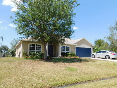 Port Saint Lucie FL Single Family Home Closed: $207,500