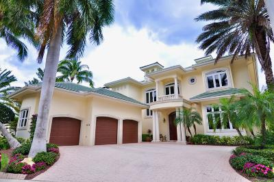 Jupiter FL Single Family Home For Sale: $2,665,000