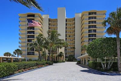 Tequesta Condo For Sale: 100 Beach Road #104