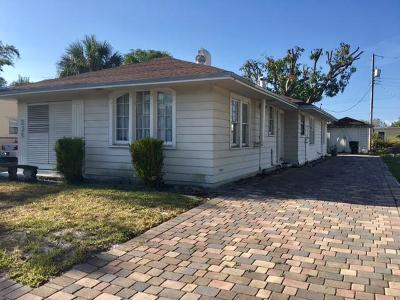 West Palm Beach Single Family Home For Sale: 536 Hampton Road