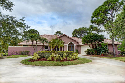 Palm City Single Family Home For Sale: 4902 SW Bimini Circle