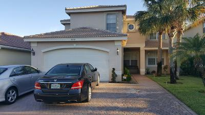 Greenacres Single Family Home Contingent: 5039 Sabreline Terrace