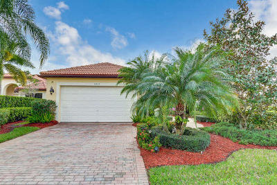 West Palm Beach Single Family Home Contingent: 6813 Sparrow Hawk Drive