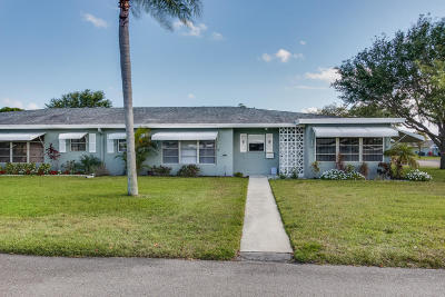 Delray Beach Single Family Home For Sale: 797 North Drive #C