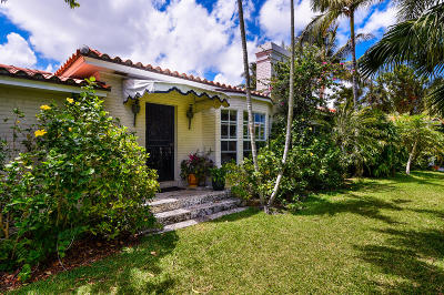 Palm Beach Single Family Home For Sale: 1540 Lake Way