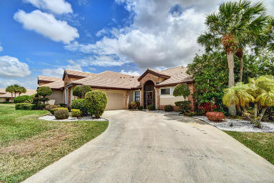 Boynton Beach Single Family Home For Sale: 7204 Sweetbay Court