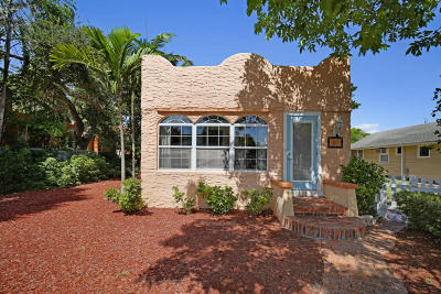 Lake Worth Single Family Home For Sale: 311 M Street
