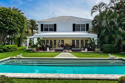 Palm Beach Single Family Home For Sale: 201 Queens Lane