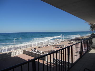 Palm Beach Condo For Sale: 3456 S Ocean Boulevard #201