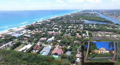 Broward County, Palm Beach County Single Family Home For Sale: 21 Coconut Lane