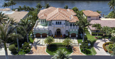 Highland Beach Single Family Home For Sale: 4216 Intracoastal Drive