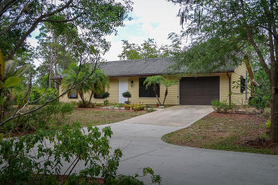 Palm Beach Gardens Single Family Home Contingent: 7760 160th Lane
