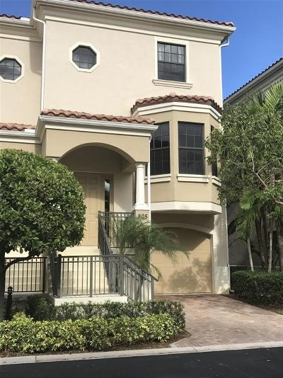 Townhouse Sold: 805 Del Sol Circle